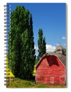 Palouse Weathered Barn Spiral Notebook