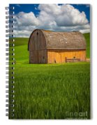 Palouse Yellow Barn Spiral Notebook
