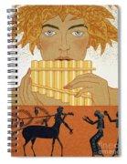 Pan Piper Spiral Notebook