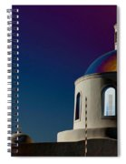 The Church Of Panagia Of Platsani Spiral Notebook