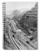 Panama Canal, 1913 Spiral Notebook