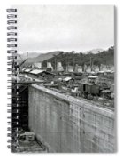 Panama Canal Construction 1910 Spiral Notebook
