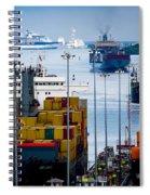 Panama Canal Express Spiral Notebook