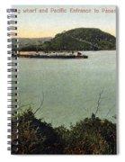 Panama Canal La Boca Spiral Notebook