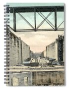Panama Canal Locks Spiral Notebook