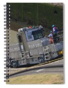Panama Canal Towing Vehicle 1 Spiral Notebook