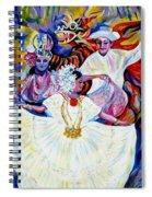 Panama Carnival. Fiesta Spiral Notebook