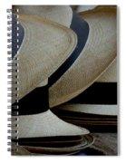 Panama Hats Spiral Notebook