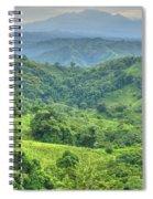 Panama Landscape Spiral Notebook