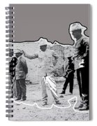 Pancho Villa  Shooting Pistol Mexico City 1914-2013 Spiral Notebook