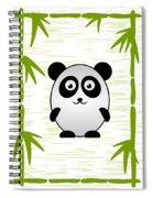 Panda - Animals - Art For Kids Spiral Notebook