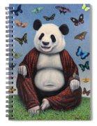 Panda Buddha Spiral Notebook
