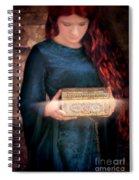 Pandora With The Box Spiral Notebook