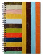 Panel Abstract L Spiral Notebook