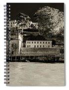 Panorama Alcatraz Up Close Spiral Notebook