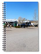 Panorama Cedar Cove Rv Park Street 4 Spiral Notebook