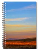 Panorama City Of The Rocks Look Out Mountain Spiral Notebook