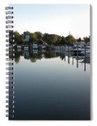 Panorama Harbor 02 Spiral Notebook