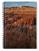 Panorama Of Bryce Canyon Amphitheater Spiral Notebook