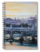 Panorama Of Rome Spiral Notebook