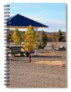Panorama Outdoor Community Area Spiral Notebook