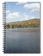 Panorama Red House Lake Allegany State Park Spiral Notebook