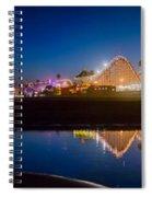Panorama - Santa Cruz Boardwalk Spiral Notebook
