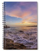 Panorama The Whole Way Round The Cove Spiral Notebook