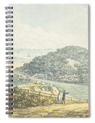 Panoramic After View, From The Red Book Spiral Notebook