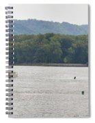 Panoramic Barge Spiral Notebook