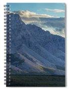 Panoramic Image Of Royal Mountain Spiral Notebook