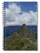 Panoramic Machu Picchu Spiral Notebook