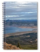 Panoramic Of Henry's Lake Spiral Notebook