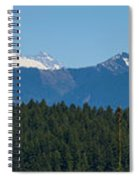 Panoramic Rainier Rt.25 Spiral Notebook