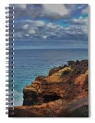Panoramic View Of The Grotto Spiral Notebook