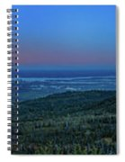Panoramic View Overlooking Anchorage Spiral Notebook