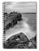 Ballycastle - Pans Rock To Rathlin Island Spiral Notebook