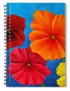 Pansies For Rosalina Spiral Notebook