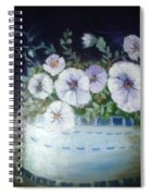 Pansies Spiral Notebook