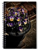 Pansies Spiral Notebook