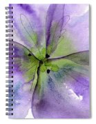 Pansy 1 Spiral Notebook