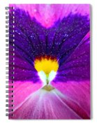 Pansy Abstract 3 Spiral Notebook
