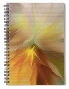 Pansy Art Spiral Notebook