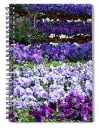 Pansy Field Spiral Notebook
