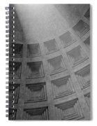 Pantheon Ceiling Spiral Notebook