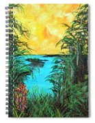 Panther Island In The Bayou Spiral Notebook