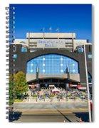 Panthers Stadium Spiral Notebook