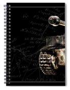 Panzer Tiger I Front Bk Bg Spiral Notebook