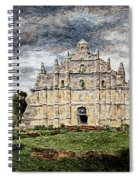 Paoay Church Spiral Notebook