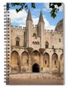 Papal Castle In Avignon Spiral Notebook